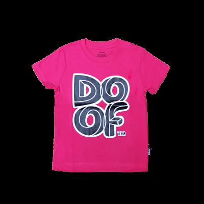 Doof Kids Tee - Maze (Pink)