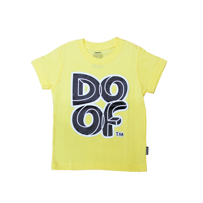 Doof Kids Tee - Maze (Yellow)