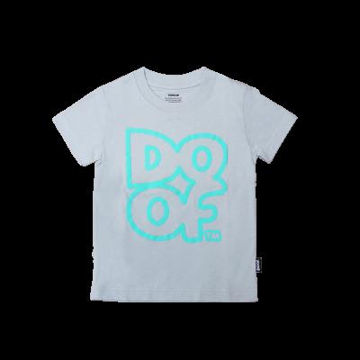 Doof Kids Tee - Outline (Grey)
