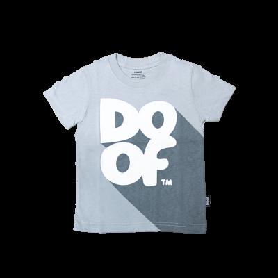 Doof Kids Tee - Classic Shadow (Grey)