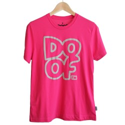 Doof Tee - Outline (Pink)