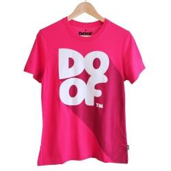 Doof Tee - Classic Shadow (Pink)