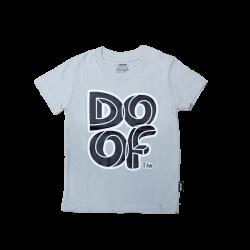 Doof Kids Tee - Maze (Grey)