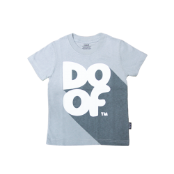 Doof Kids Tee - Classic Shadow (Grey)
