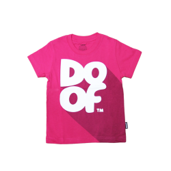 Doof Kids Tee - Classic Shadow (Pink)