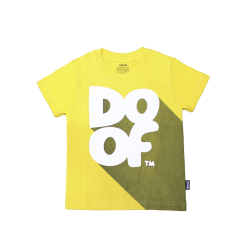 Doof Kids Tee - Classic Shadow (Yellow)