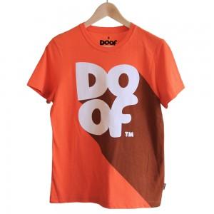 Doof Tee - Classic Shadow (Orange)