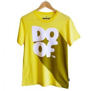 Doof Tee - Classic Shadow (Yellow)