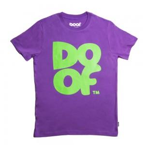 Doof Tee - Coloured (Purple+Green)